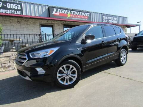 2017 Ford Escape for sale at Lightning Motorsports in Grand Prairie TX