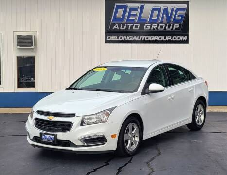 2015 Chevrolet Cruze for sale at DeLong Auto Group in Tipton IN