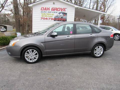 2010 Ford Focus for sale at Oak Grove Auto Sales in Kings Mountain NC