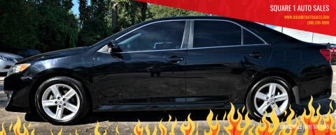 2013 Toyota Camry for sale at Square 1 Auto Sales in Commerce GA