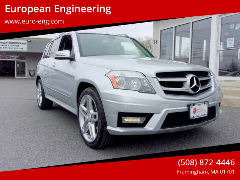 2011 Mercedes-Benz GLK for sale at European Engineering in Framingham MA
