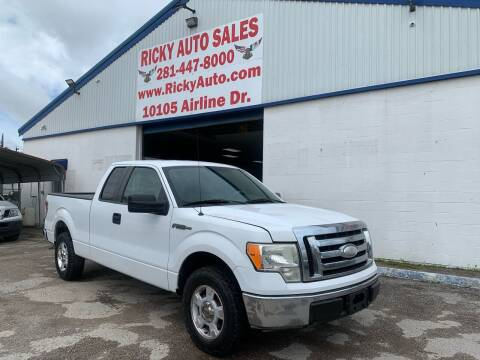 2009 Ford F-150 for sale at Ricky Auto Sales in Houston TX
