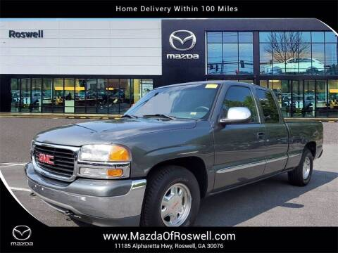 2001 GMC Sierra 1500 for sale at Mazda Of Roswell in Roswell GA