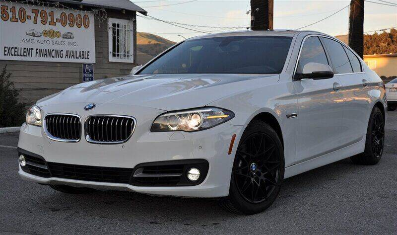 2015 BMW 5 Series for sale at AMC Auto Sales, Inc. in Fremont CA