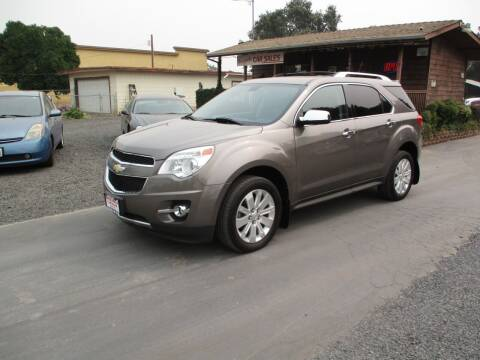 2011 Chevrolet Equinox for sale at Manzanita Car Sales in Gridley CA