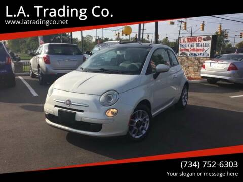 2012 FIAT 500 for sale at L.A. Trading Co. Woodhaven in Woodhaven MI
