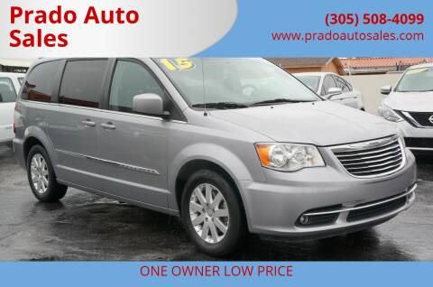2015 Chrysler Town and Country for sale at Prado Auto Sales in Miami FL