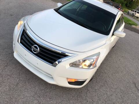 2015 Nissan Altima for sale at Supreme Auto Gallery LLC in Kansas City MO
