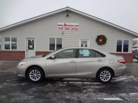 2017 Toyota Camry for sale at GIBB'S 10 SALES LLC in New York Mills MN