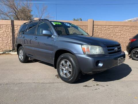 2005 Toyota Highlander for sale at Berge Auto in Orem UT