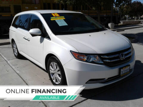 2015 Honda Odyssey for sale at Super Cars Sales Inc #1 in Oakdale CA