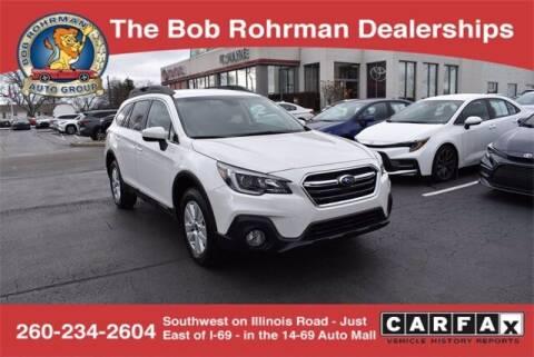 2019 Subaru Outback for sale at BOB ROHRMAN FORT WAYNE TOYOTA in Fort Wayne IN