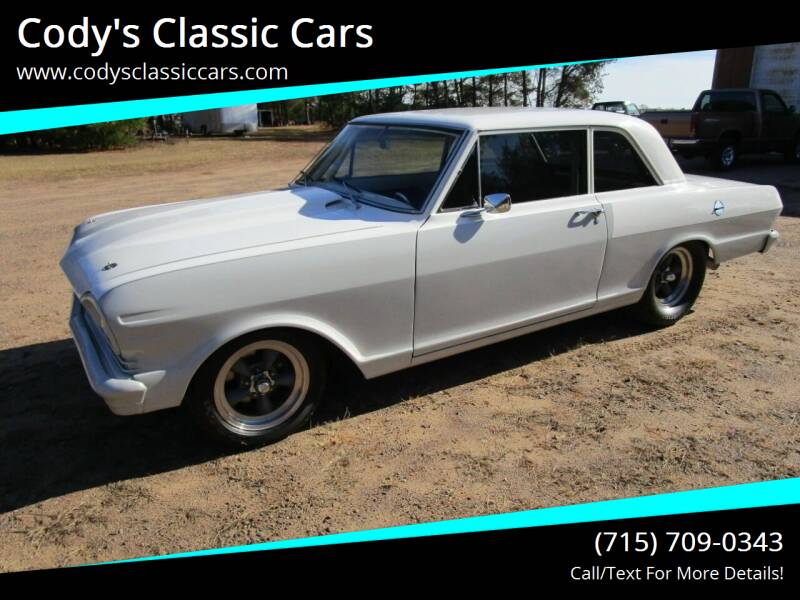 1965 Chevrolet Nova for sale at Cody's Classic Cars in Stanley WI