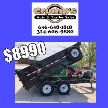 2020 Pj 12' Dump Trailer for sale at CRUMP'S AUTO & TRAILER SALES in Crystal City MO