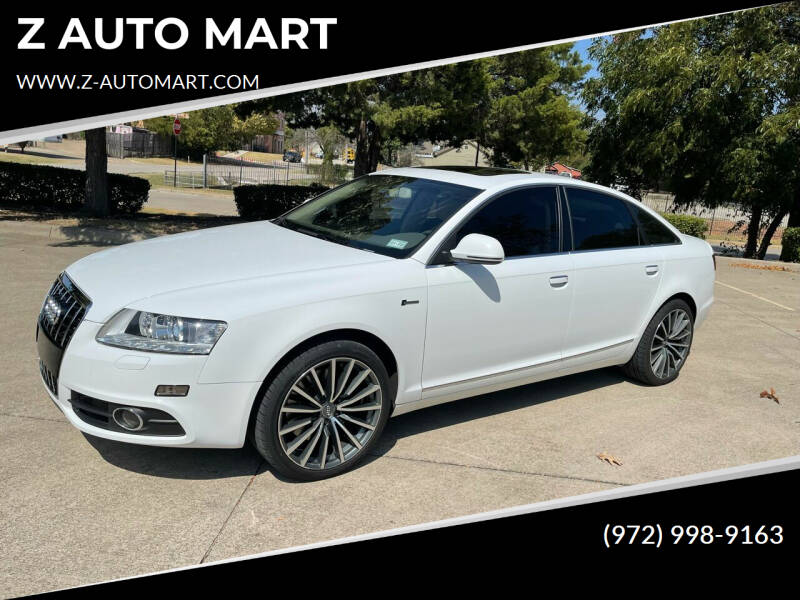 2011 Audi A6 for sale at Z AUTO MART in Lewisville TX