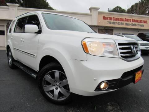 2014 Honda Pilot for sale at North Georgia Auto Brokers in Snellville GA