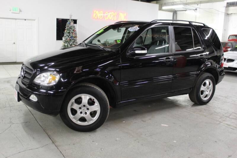 2002 Mercedes-Benz M-Class for sale at R n B Cars Inc. in Denver CO