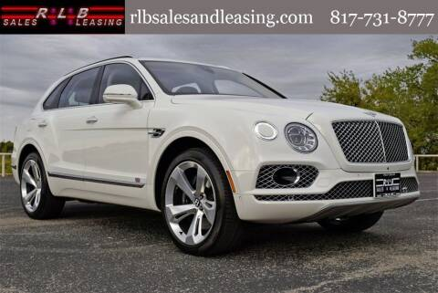 2017 Bentley Bentayga for sale at RLB Sales and Leasing in Fort Worth TX