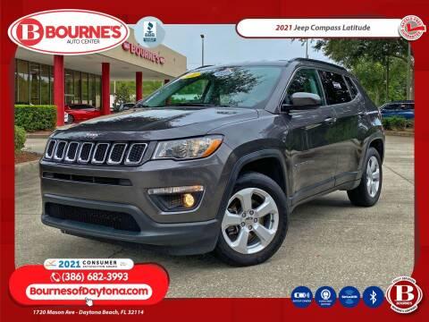 2021 Jeep Compass for sale at Bourne's Auto Center in Daytona Beach FL