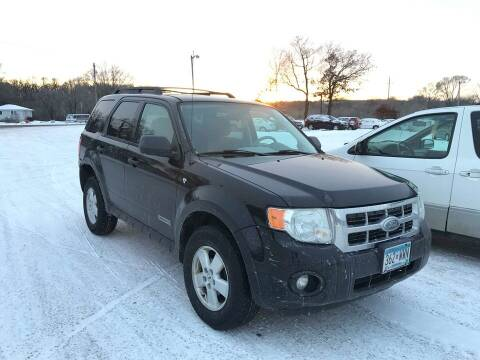 2008 Ford Escape for sale at Cannon Falls Auto Sales in Cannon Falls MN
