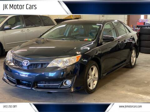 2012 Toyota Camry for sale at JK Motor Cars in Pittsburgh PA