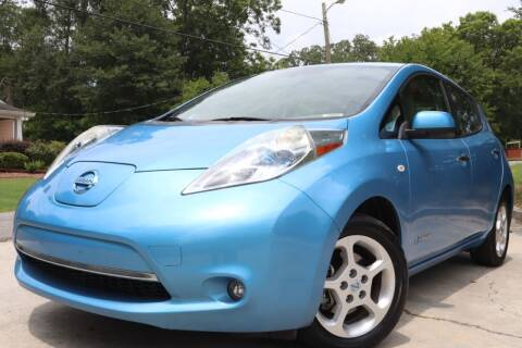 2012 Nissan LEAF for sale at E-Z Auto Finance in Marietta GA