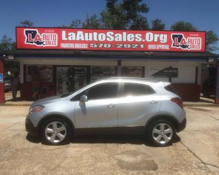2015 Buick Encore for sale at LA Auto Sales in Monroe LA