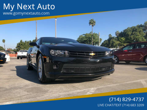 2014 Chevrolet Camaro for sale at My Next Auto in Anaheim CA