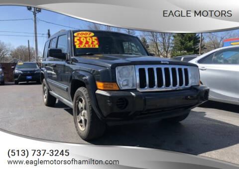 2007 Jeep Commander for sale at Eagle Motors in Hamilton OH