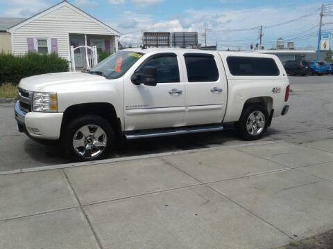 2011 Chevrolet Silverado 1500 for sale at Nelsons Auto Specialists in New Bedford MA