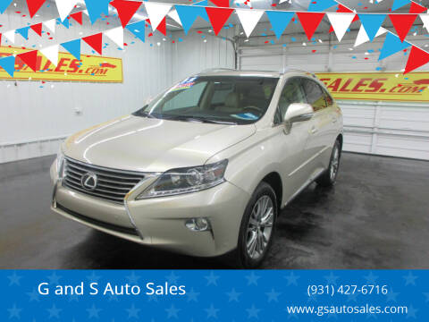 2013 Lexus RX 350 for sale at G and S Auto Sales in Ardmore TN