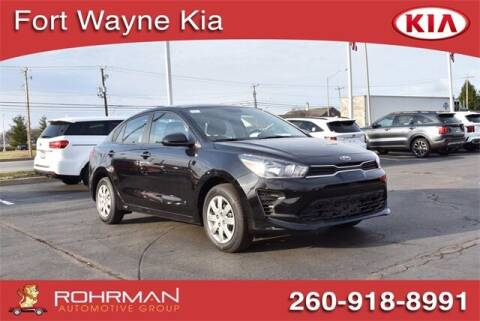 2021 Kia Rio for sale at BOB ROHRMAN FORT WAYNE TOYOTA in Fort Wayne IN