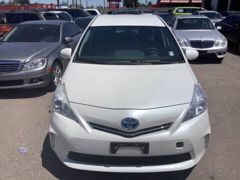 2012 Toyota Prius v for sale at GPS Motors in Denver CO