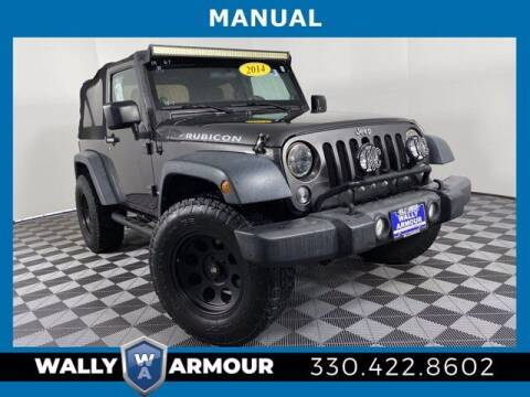 2014 Jeep Wrangler for sale at Wally Armour Chrysler Dodge Jeep Ram in Alliance OH