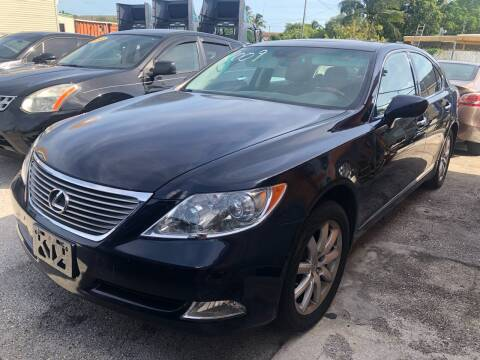 2009 Lexus LS 460 for sale at VC Auto Sales in Miami FL