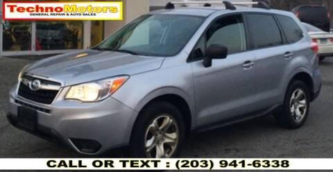 2014 Subaru Forester for sale at Techno Motors in Danbury CT