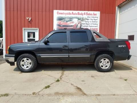 2004 Chevrolet Avalanche for sale at Countryside Auto Body & Sales, Inc in Gary SD