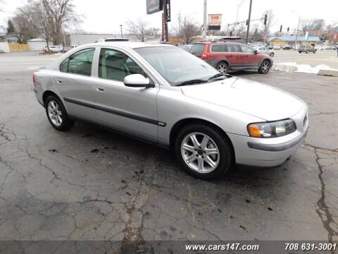 2002 Volvo S60 for sale at Cj king of car loans/JJ's Best Auto Sales in Troy MI