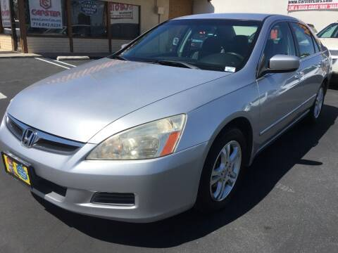 2007 Honda Accord for sale at CARSTER in Huntington Beach CA