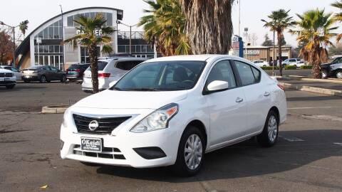 2019 Nissan Versa for sale at Okaidi Auto Sales in Sacramento CA