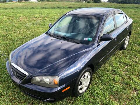 2005 Hyundai Elantra for sale at Linda Ann's Cars,Truck's & Vans in Mount Pleasant PA