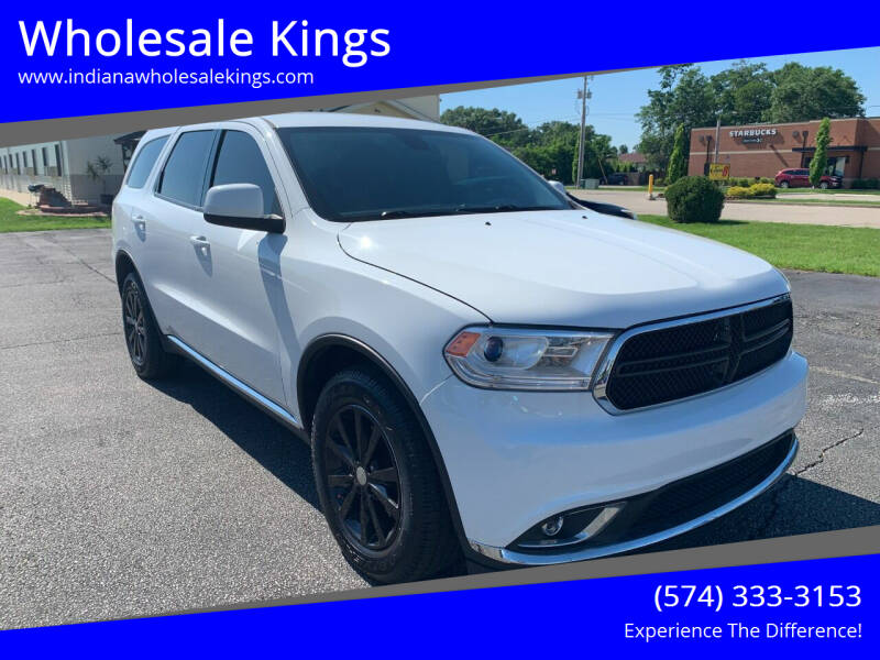 2015 Dodge Durango for sale at Wholesale Kings in Elkhart IN