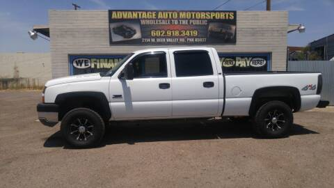2005 Chevrolet Silverado 2500HD for sale at Advantage Motorsports Plus in Phoenix AZ