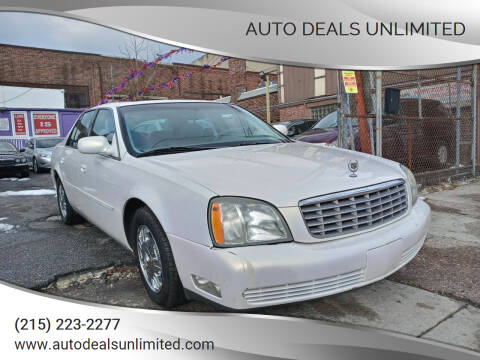 2004 Cadillac DeVille for sale at AUTO DEALS UNLIMITED in Philadelphia PA