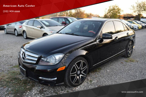 2013 Mercedes-Benz C-Class for sale at American Auto Center in Austin TX