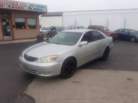 2003 Toyota Camry for sale at Flag Motors in Columbus OH