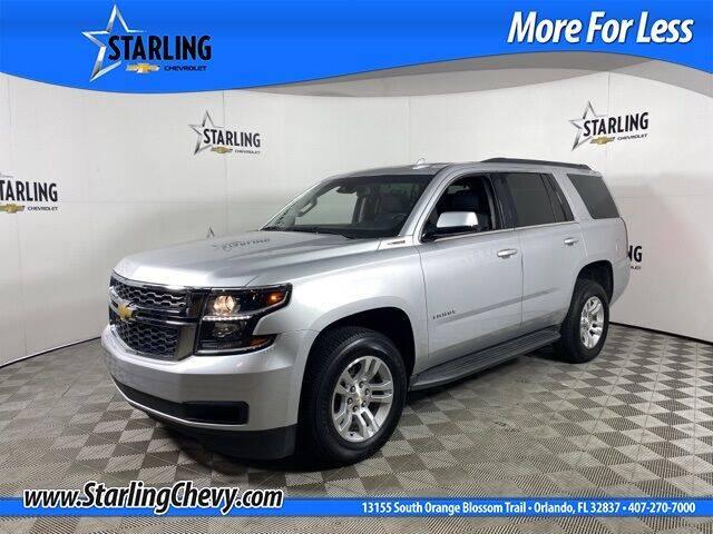 2015 Chevrolet Tahoe for sale at Pedro @ Starling Chevrolet in Orlando FL
