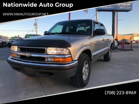 2001 Chevrolet S-10 for sale at Nationwide Auto Group in Melrose Park IL