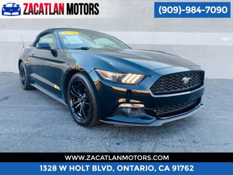 2016 Ford Mustang for sale at Ontario Auto Square in Ontario CA