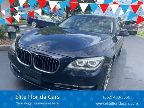 2015 BMW 7 Series for sale at Elite Florida Cars in Tavares FL